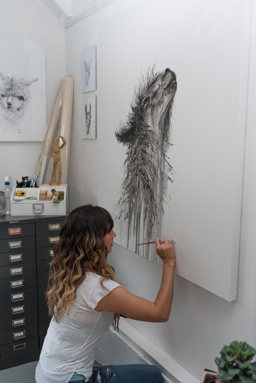 Trillian   Original – K Llamas Fine Art